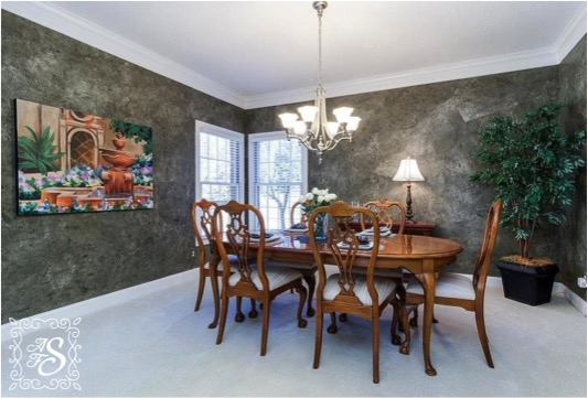 dining room after redesign